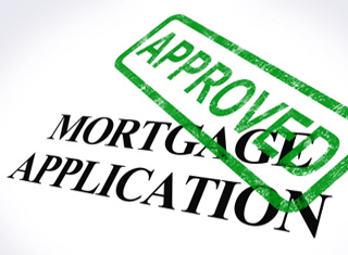 approved stamped on mortgage application