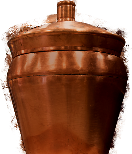 Close up of a beer brewing kettle