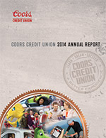 On Tap Credit Union's 2013 Annual Report Front Cover