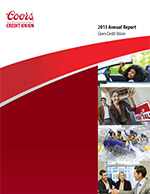 On Tap Credit Union's 2012 Annual Report Front Cover